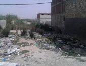 تراكم القمامة بنجع عبد الرواف بالإسكندرية