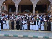 صورة تذكارية لقيادات مطروح المختلفة خلال احتفالات أكتوبر