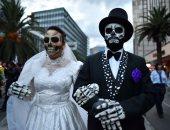 الاحتفال بعودة الأرواح فى يوم الموتى بالمكسيك