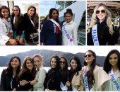 """70 ملكة جمال يروجن لبلادهن بـ """"الكاجوال"""" فى اليابان"""