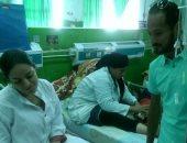 وليد سليمان خلل زيارة مستشفى أبوالريش