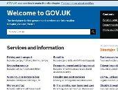 موقع GOV.UK