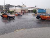 الامطار تغرق شوارع الغردقة