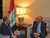 وزير العدل الليبيى ونظيره العراقى