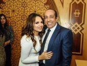 أحمد صيام يحتفل بعقد قران ابنته