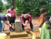 تعاون مصرى لحفر ابار مياه باوغندا