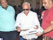 محافظ بورسعيد يتفقد المهرجان