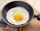 البيض المقلى