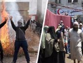 عنف الاخوان فى رابعة - ارشيف