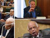 الدكتور على عبد العال رئيس مجلس النواب والنائب أكمل قرطام والجلسة العامة