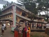أضرار زلزال أندونيسيا