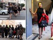 مسيرة بفساتين قصيرة بوسط البلد لمواجهة التحرش