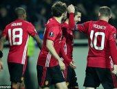 مانشستر يونايتد يتأهل لدور الـ 32 بالدوري الأوروبي