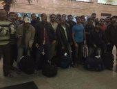 الصيادون في مطار القاهرة