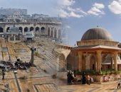 المسجد الأموى بحلب سرقت محتوياته ونقلت لتركيا