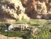 تدمير آثار النمرود فى العراق