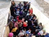 أطفال نازحين فى العراق