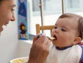 طعام الأطفال