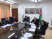 وزير الزراعة الاردنى مع عبد الحميد الدمرداش فى عمان
