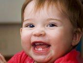 ظهور الاسنان عند الرضع