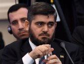 محمد علوش ممثل وفد المعارضة السورية فى جنيف