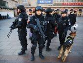 عناصر من الشرطة الصينية