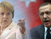 رجب طيب أردوغان وأنجيلا ميركل