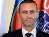 ألكسندر سيفرين رئيس الاتحاد الأوروبي لكرة القدم (يويفا)