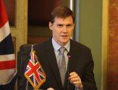 جون كاسن - السفير البريطانى بالقاهرة