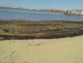 التلوث بشاطي الخليج