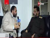 العميد جمال الزهاوى قائد كتيبة شهداء الزاوية بالجيش الوطنى الليبى