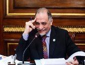 الدكتور عبد الهادى القصبى رئيس لجنة التضامن الاجتماعى بالبرلمان