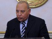 المستشار حسام عبد الرحيم وزير العدل