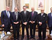"""""""عبد العال"""" يستقبل مبعوث الاتحاد الأوروبى"""