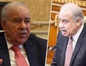 رئيس الوزراء شريف إسماعيل و المستشار مجدى العجاتى