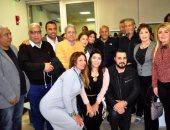 زيارة أعضاء المهرجان لمركز مجدى يعقوب