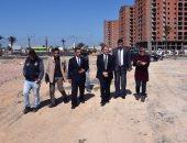 محافظ الإسكندرية يتفقد الأرض المخصصة لإنشاء ملاعب نادى الإتحاد