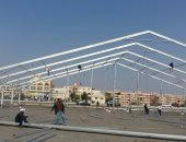 تجهيزات اتحاد الناشرين لمعرض الشيخ زايد
