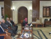 رئيس جهاز التنسيق الحضارى ومحافظ بورسعيد