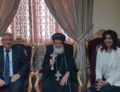 جانب من زيارة وزيرة الهجرة للخرطوم