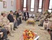 محافظ بني سويف يستقبل رئيس الهيئة الهندسية للقوات المسلحة
