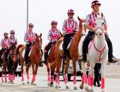 جانب من مسيرة القافلة الوردية
