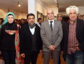 الدكتور خالد سرور خلال افتتاح معرض شريان