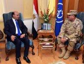 مميش يستقبل رئيس أكاديمية ناصر