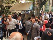 محامون يحتشدون على سلالم نقابتهم