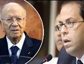 رئيس الحكومة التونسية يوسف الشاهد والرئيس الباجى قائد السبسى
