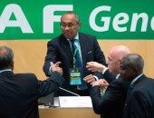 """أحمد أحمد رئيس الاتحاد الأفريقى لكرة القدم """"الكاف"""""""