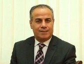 اللواء بحرى عبد القادر درويش نائب رئيس المنطقة الاقتصادية لمحور قناة السويس