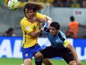 مباراة الذهاب بين البرازيل وأوروجواى