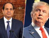 الرئيسان عبدالفتاح السيسي ودونالد ترامب